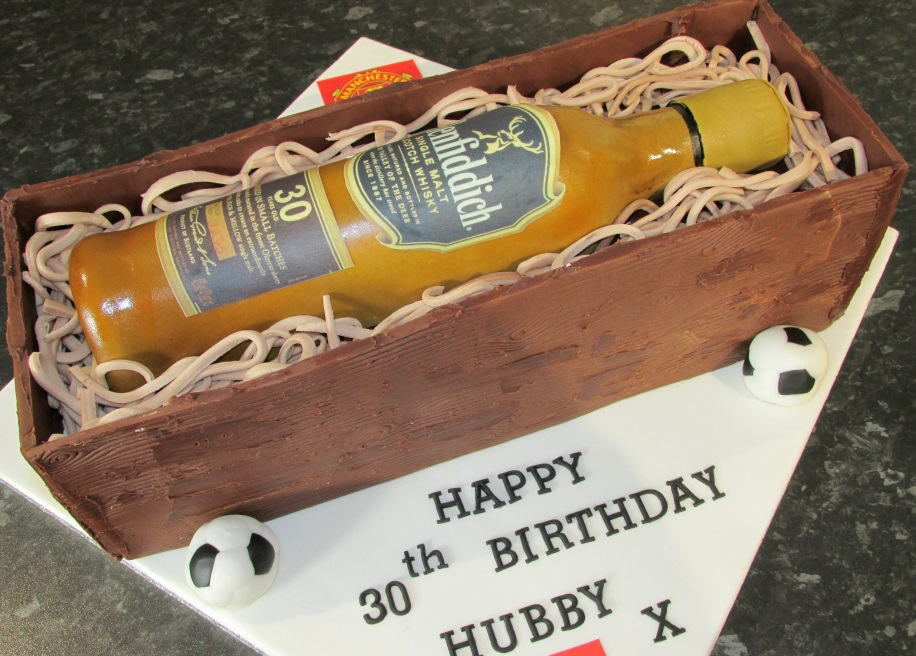 Glenfidditch Bottle cake