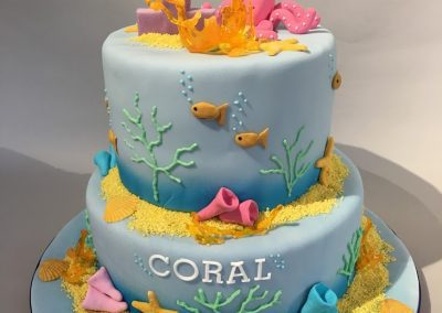 Coral's 1st birthday