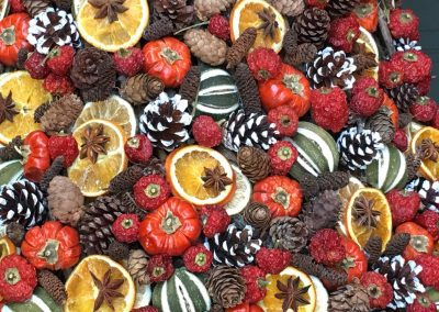 Dried Xmas fruits